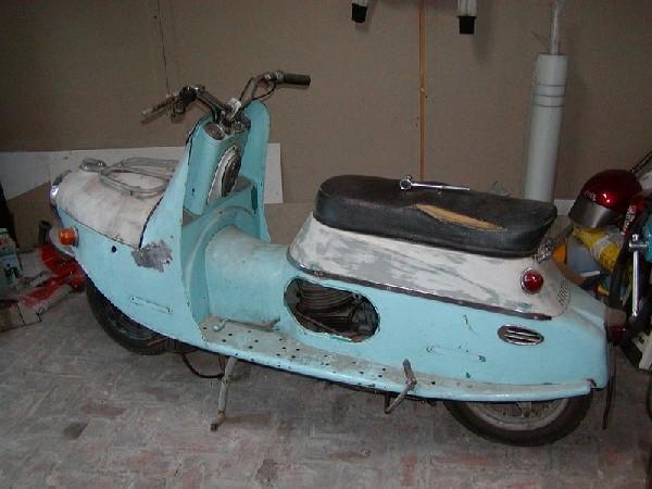 ČZ 175 - 501 (1958)