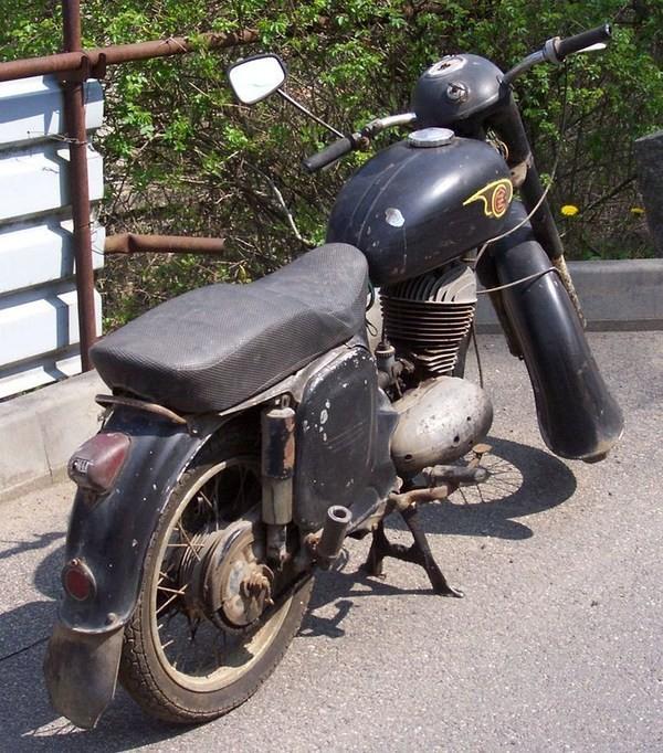 ČZ 250 - 455 (1961)