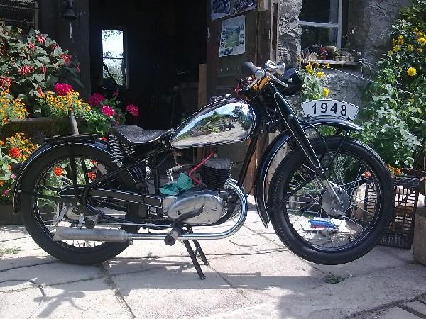 čz 125 - c (1948)