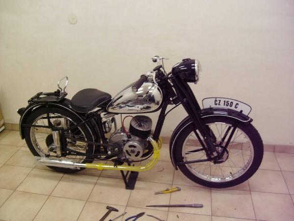 ČZ - 150 C (1953)