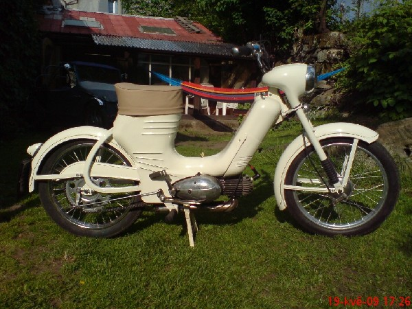 Jawa  - 550 (1956)