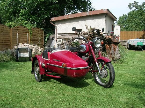 Jawa - 634 sidecar (1977)
