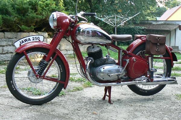 JAWA - Pérák- FJ (1948)