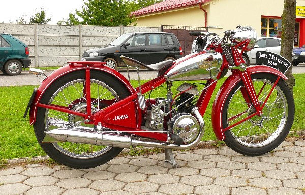 JAWA - 250 SPECIAL (1939)